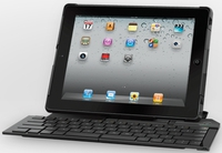 Logitech Fold-Up Keyboard for iPad 2 Bluetooth QWERTY Nero tastiera per dispositivo mobile