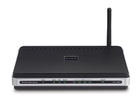 D-Link DSL-2640B-E1 Fast Ethernet Nero router wireless