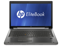 "HP EliteBook 8760w 2.8GHz i7-2640M 17.3"" 1600 x 900Pixel"