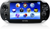 "Sony PlayStation Vita 3G/Wi-Fi 5"" Touch screen Wi-Fi Nero console da gioco portatile"