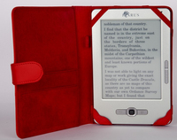 Icarus C006RD Cover Rosso custodia per e-book reader