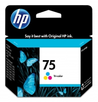 HP 75 Tri-color Ciano, Giallo cartuccia d