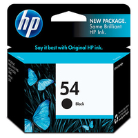 HP 54 Black Nero cartuccia d