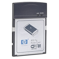 HP 802.11g CompactFlash Printer Adapter scheda di rete e adattatore