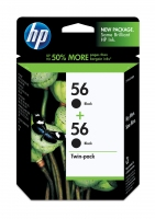 HP 56 2-pack Black Nero cartuccia d