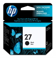 HP 27 Black Nero cartuccia d