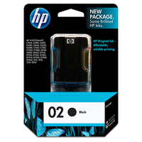 HP 02 Black Nero cartuccia d