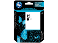 HP 15 Black Nero cartuccia d