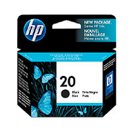 HP 20 Black Nero cartuccia d