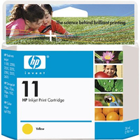 HP 11 Yellow Giallo cartuccia d