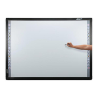 "Acer IWB 77-S01 Interactive White Board 77i 4.3 v.2 77"" 600 x 600Pixel Touch screen USB Grigio lavagna interattiva"