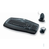 Logitech Cordless Desktop LX 700 RF Wireless tastiera