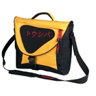 "Toshiba Messenger Bag Orange 15.4"" Borsa da corriere Arancione"