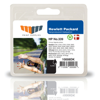 MM Black Inkjet Cartridge - Replaces HP No.339 (C8767EE) - 20% Extra ink compared to OEM 34ml Nero cartuccia d