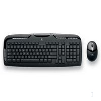Logitech Cordless Desktop EX 110 RF Wireless QWERTY Nero tastiera
