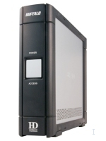 Buffalo DriveStation - External Hard Drive - 750GB 750GB Nero, Grigio disco rigido esterno