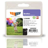 MM Black Inkjet Cartridge - Replaces Brother LC900BK 20ml Nero cartuccia d