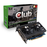 CLUB3D GeForce GTX 560Ti Battlefield 3 Limited Edition GeForce GTX 560 Ti 2GB GDDR5