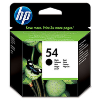 HP 54 Black Original Ink Cartridge cartuccia d