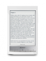 "Sony PRS-T1 6"" Touch screen 2GB Wi-Fi Bianco lettore e-book"