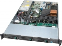 Intel Server Systems SR1500AL Intel 5000P LGA 771 (Socket J) 1U Metallico