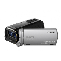 Sony HDR-TD20VE Videocamera palmare CMOS Full HD Nero, Argento videocamera