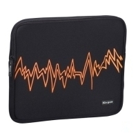"Targus Notebook Skin - Orange Electric 15.4"" Custodia a tasca Nero"