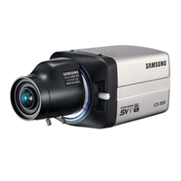 Samsung SCB-3000 IP security camera Interno Nero
