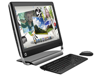 "HP TouchSmart 520-1120eb 2.7GHz i5-2390T 23"" 1920 x 1080Pixel Touch screen Nero, Argento"