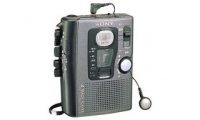 Sony Battery powered handheld compact cassette recorder TCM-4TR lettore e registratore cassette