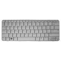 HP 461216-131 QWERTY Portoghese Argento tastiera