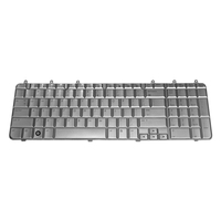 HP 483275-031 QWERTY Inglese Argento tastiera