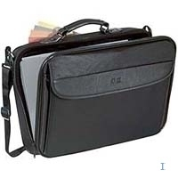 "Case Logic Basic Laptop Case 15.4"" with extra compartment 15.4"" Valigetta ventiquattrore Nero"