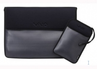 "Sony Protective slip cover / mini bag 13.3"" Borsa da corriere Nero"