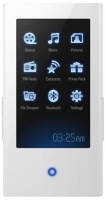 Samsung YP-P2J - 4GB MP3 Player, White 4GB Bianco