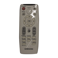 Samsung BP59-00135A IR Wireless Pulsanti Bianco telecomando
