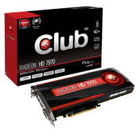 CLUB3D CGAX-7977C Radeon HD7970 3GB GDDR5 scheda video