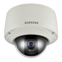 Samsung SNV-5080 IP security camera Interno e esterno Cupola Grigio
