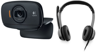 Logitech B525 + B530 2MP 1280 x 720Pixel USB 2.0 Nero webcam