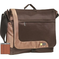 "Case Logic TK Expandable Messenger Bag Brown 15.4"" Marrone"