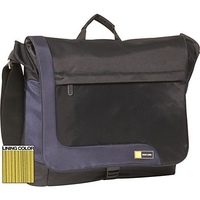 "Case Logic TK Expandable Messenger Bag Blue 15.4"" Blu"