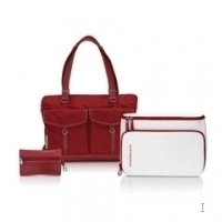 "Sony Mandarina Duck, blazing red 14"" Ventriquattore da donna Rosso"