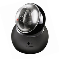 Logitech QuickCam Sphere AF 1600 x 1200Pixel USB Nero webcam