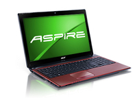 "Acer Aspire AS5750G-32354G32Mnrr 2.3GHz i3-2350M 15.6"" 1366 x 768Pixel Rosso"