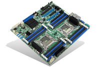 Intel DBS2600CP2IOC Intel C602 LGA 2011 (Socket R) SSI EEB server/workstation motherboard