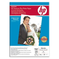 HP Premium Plus High-gloss Photo Paper-20 sht/A4/210 x 297 mm carta inkjet