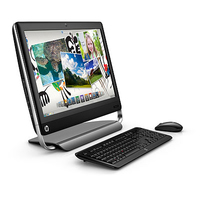 "HP TouchSmart 520-1108el 2.7GHz i5-2390T 23"" 1920 x 1080Pixel Touch screen Nero"