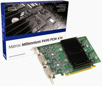 Matrox P69-MDDE128F GDDR2 scheda video