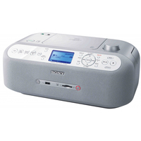 Sony ZS-R100CP Argento radio CD