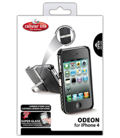 Cellularline ODEON for iPhone 4S/4 Cover Nero